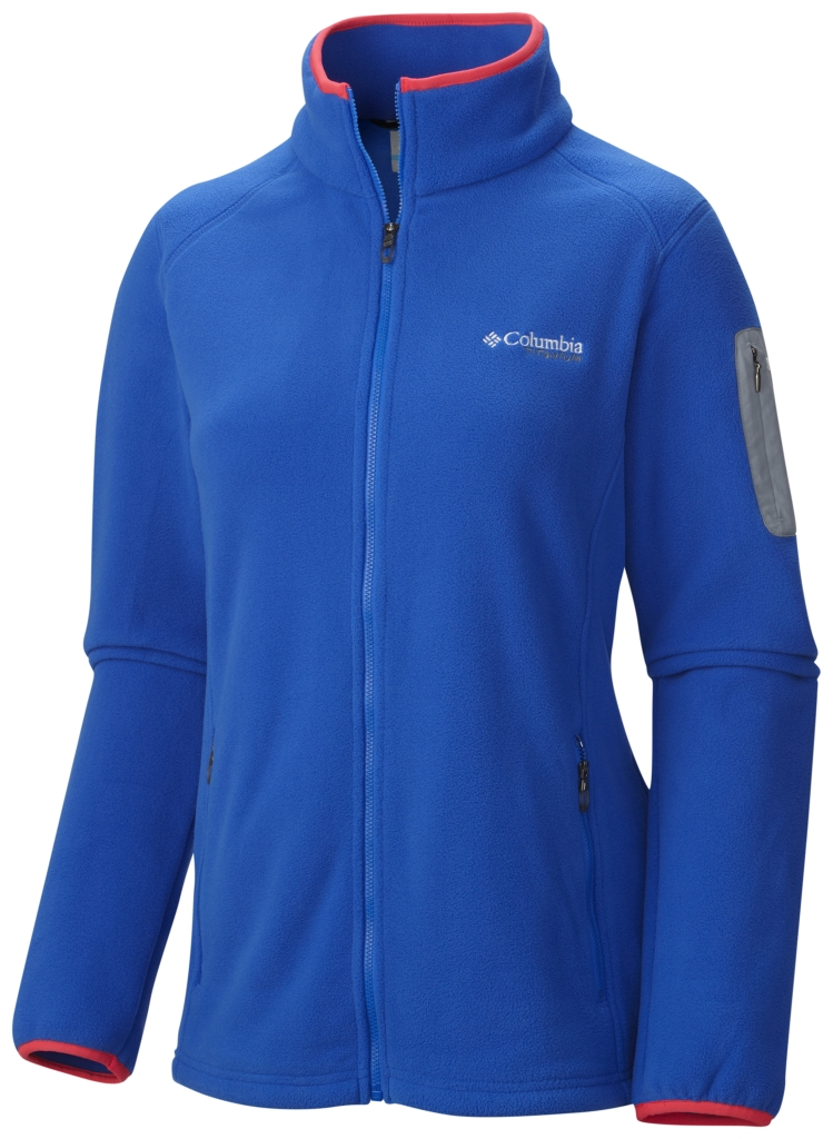 Columbia Women's Titan Pass 2.0 Fleece Jacket Blue Macaw-30