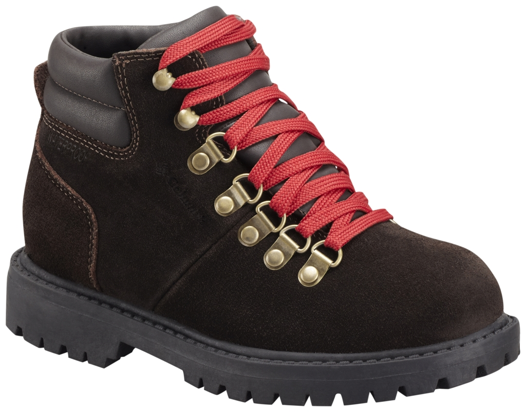 Columbia Youth Teewinot Stomper Leather Boot Mud-30