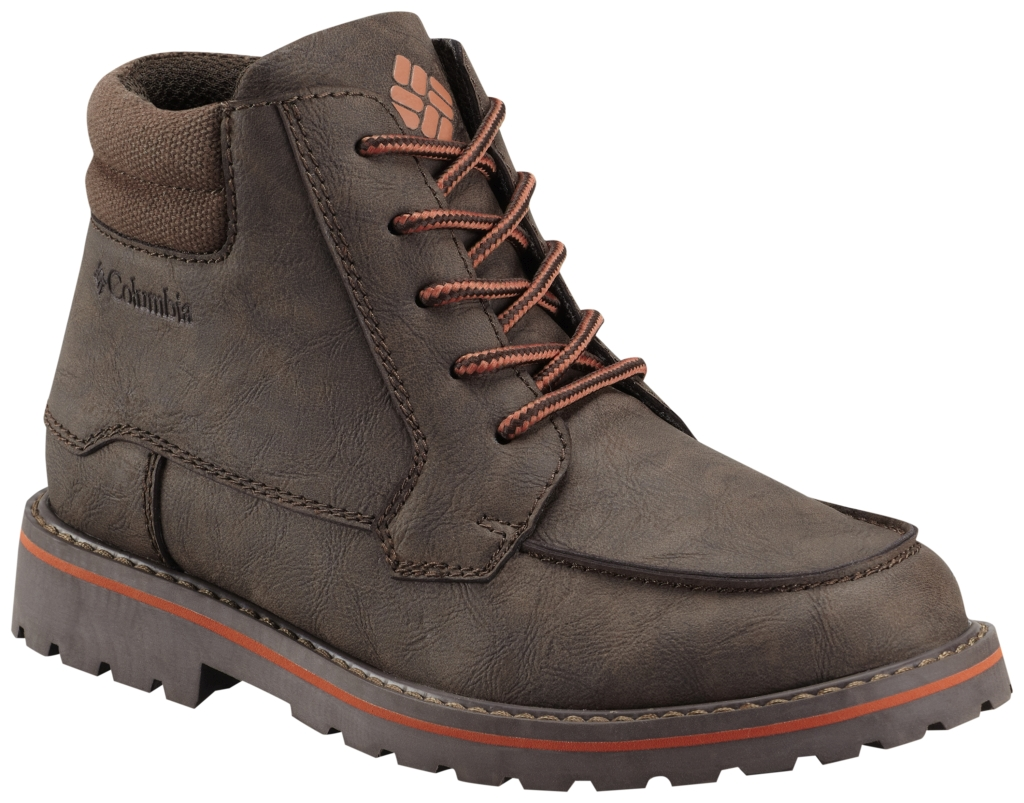 Columbia Youth Lewis Ridge Leather Boot Cordovan-30