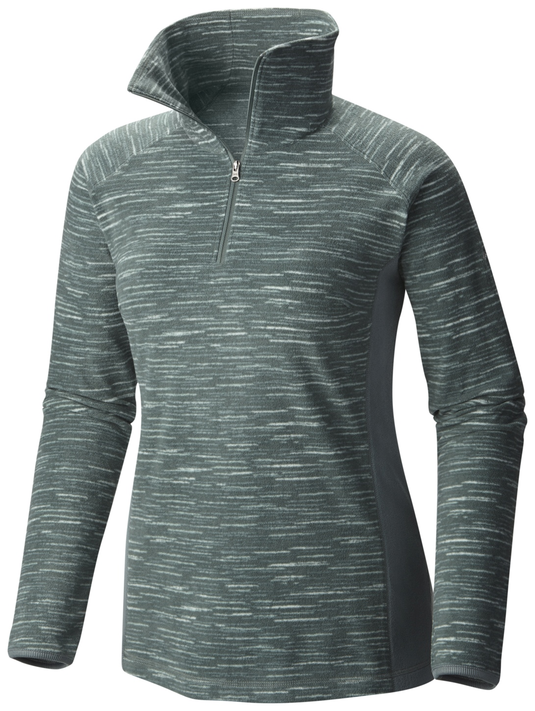 Columbia Women's Glacial Fleece III Print Half Zip Top Pond Strata-30