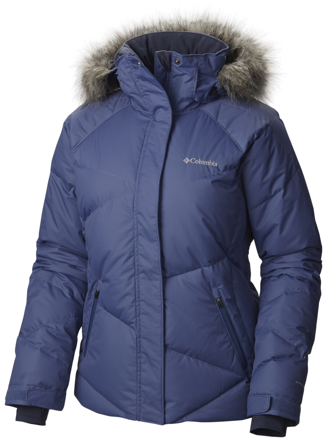 Columbia Women's Lay 'D' Down Ski Jacket Bluebell-30