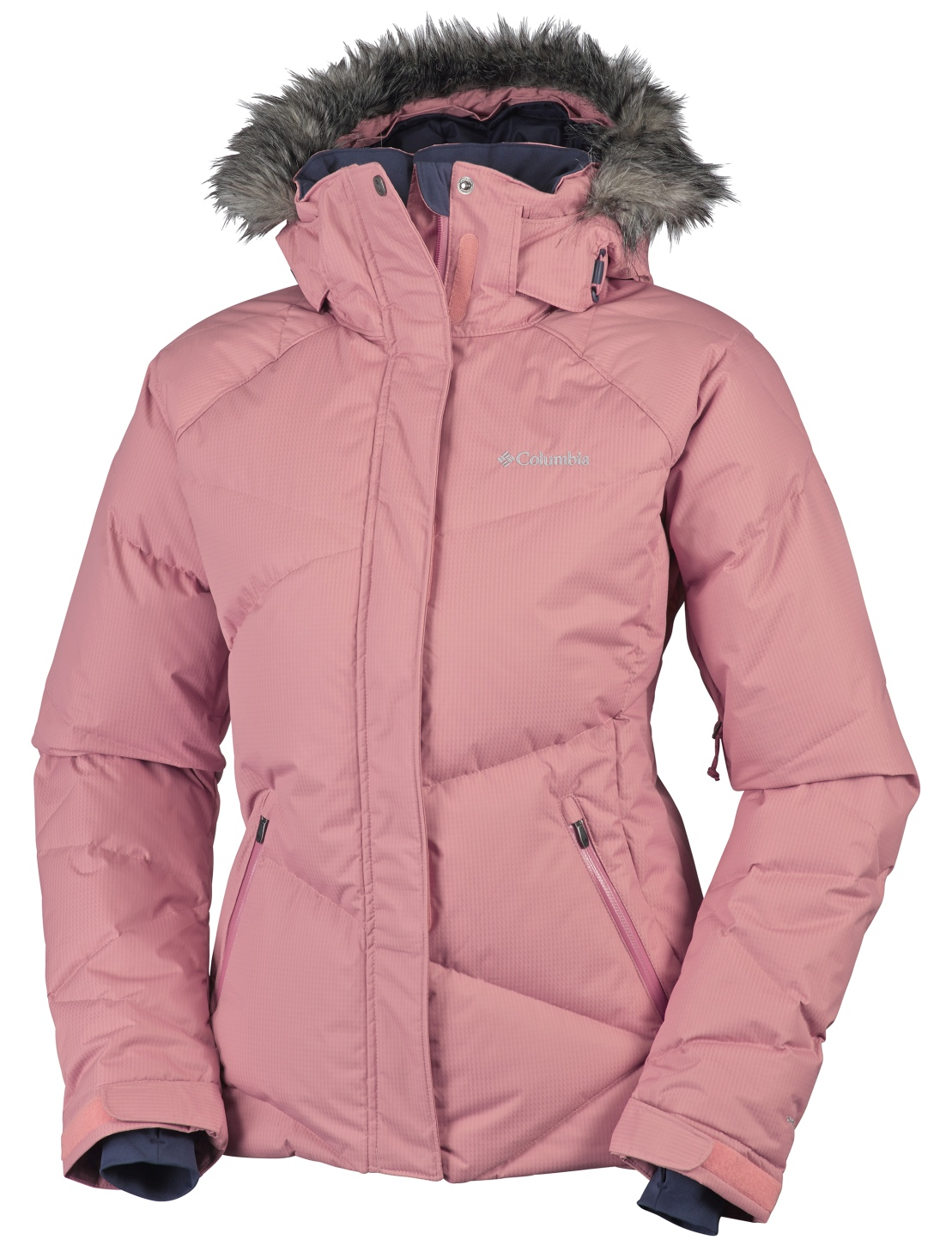 Columbia Women's Lay 'D' Down Ski Jacket Canyon Rose-30