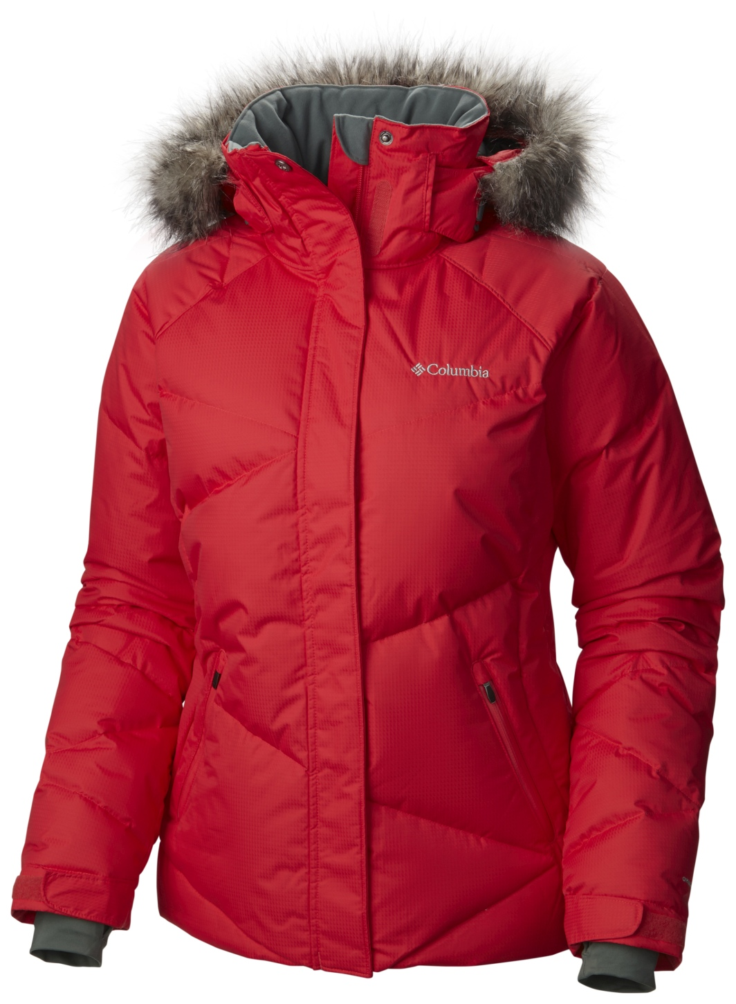 Columbia Lay 'D' Down Ski-Jacke für Damen Red Camellia-30