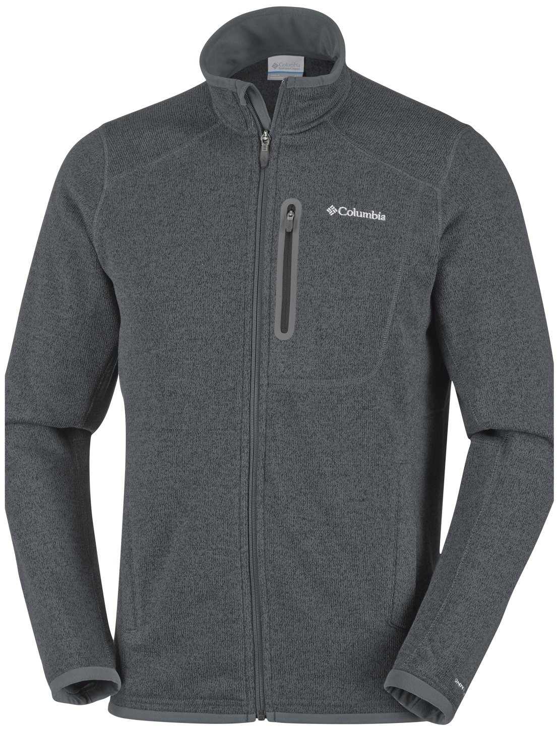 Columbia Men's Altitude Aspect Full Zip Fleece Graphite Heather-30