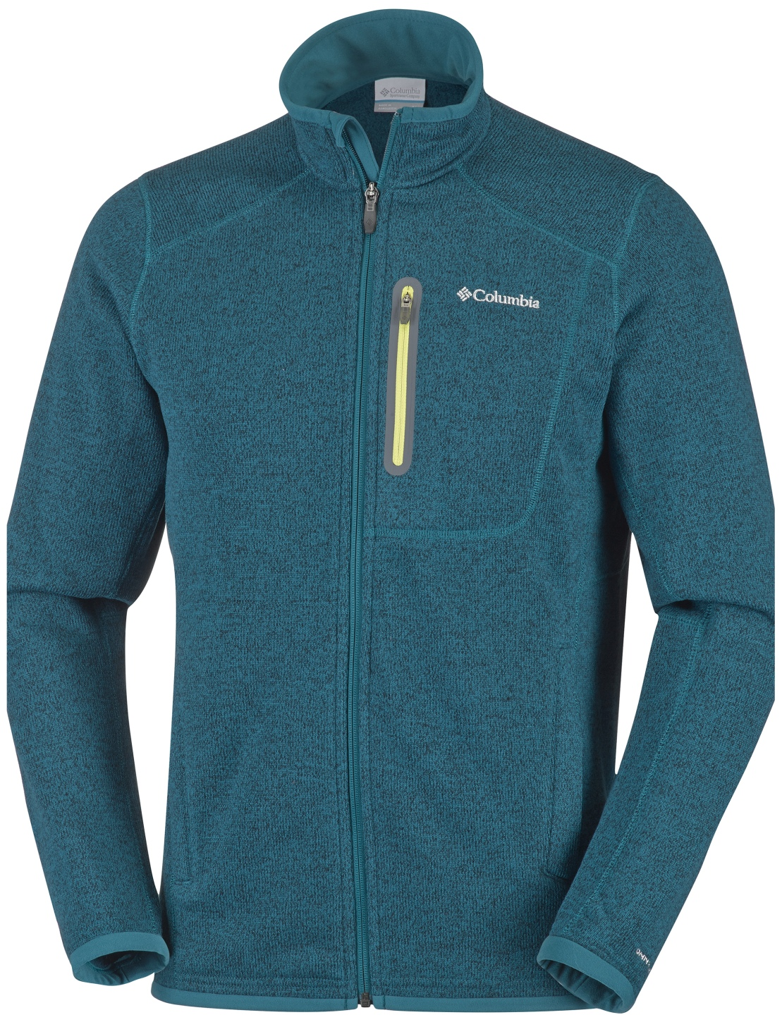 Columbia Men's Altitude Aspect Full Zip Fleece Deep Water Heather-30