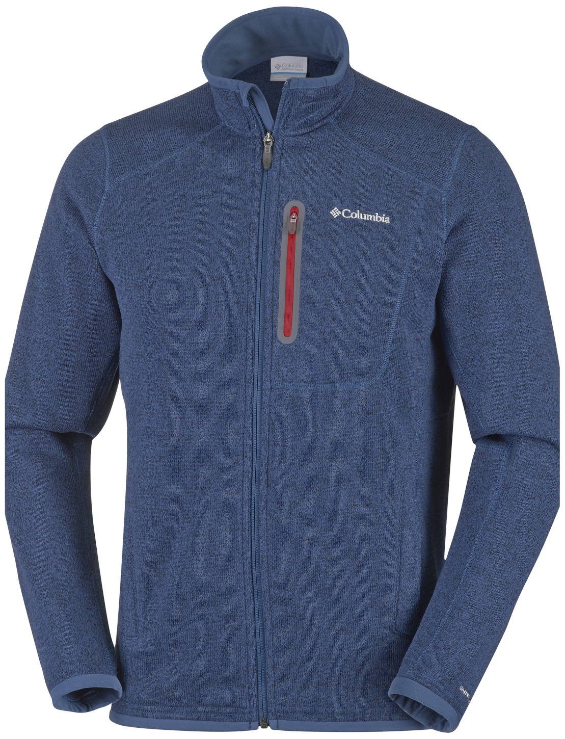 Columbia Men's Altitude Aspect Full Zip Fleece Night Tide Heather-30