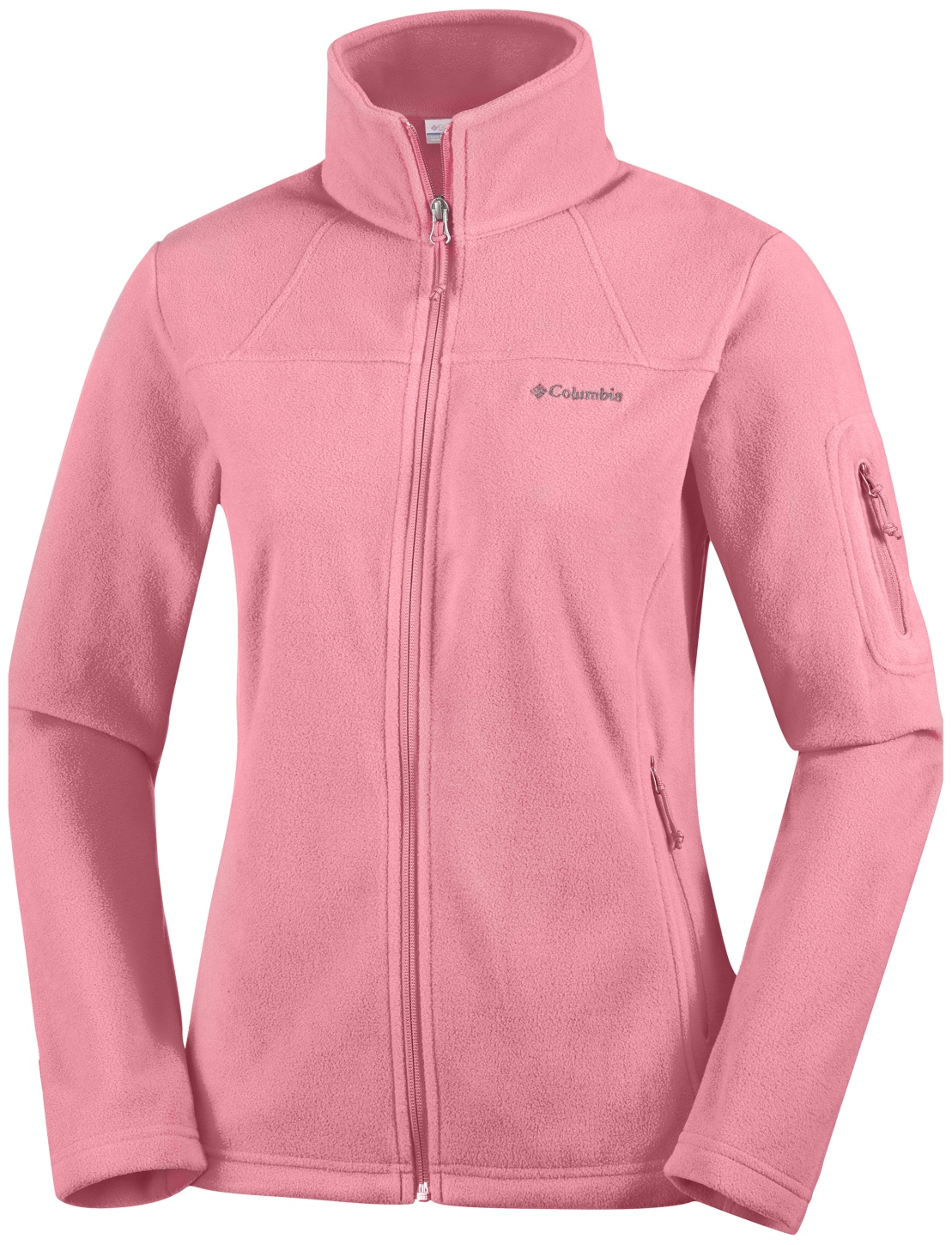 Columbia Women's Fast Trek II Jacket Canyon Rose-30