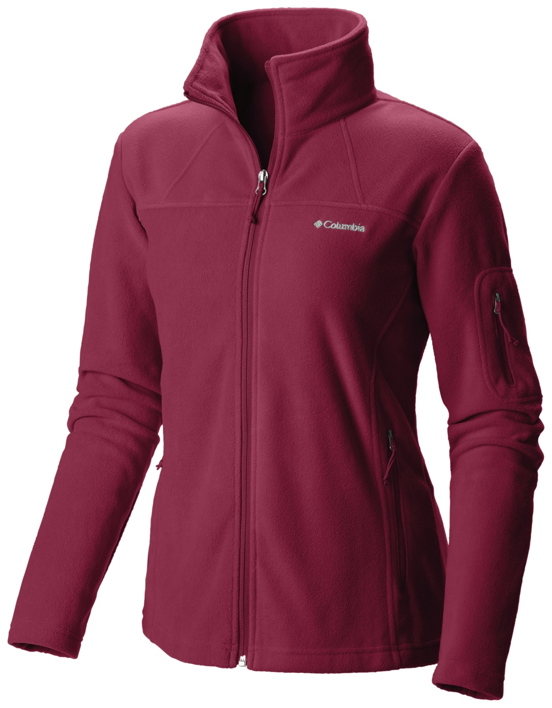 Columbia Women's Fast Trek II Jacket Red Orchid-30