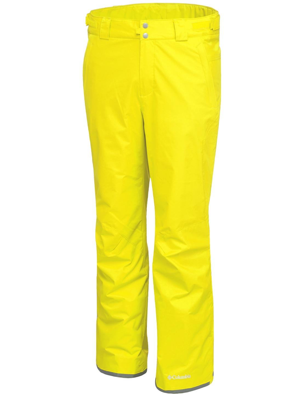 Columbia Men's Bugaboo II Ski Trousers Mineral Yellow-30