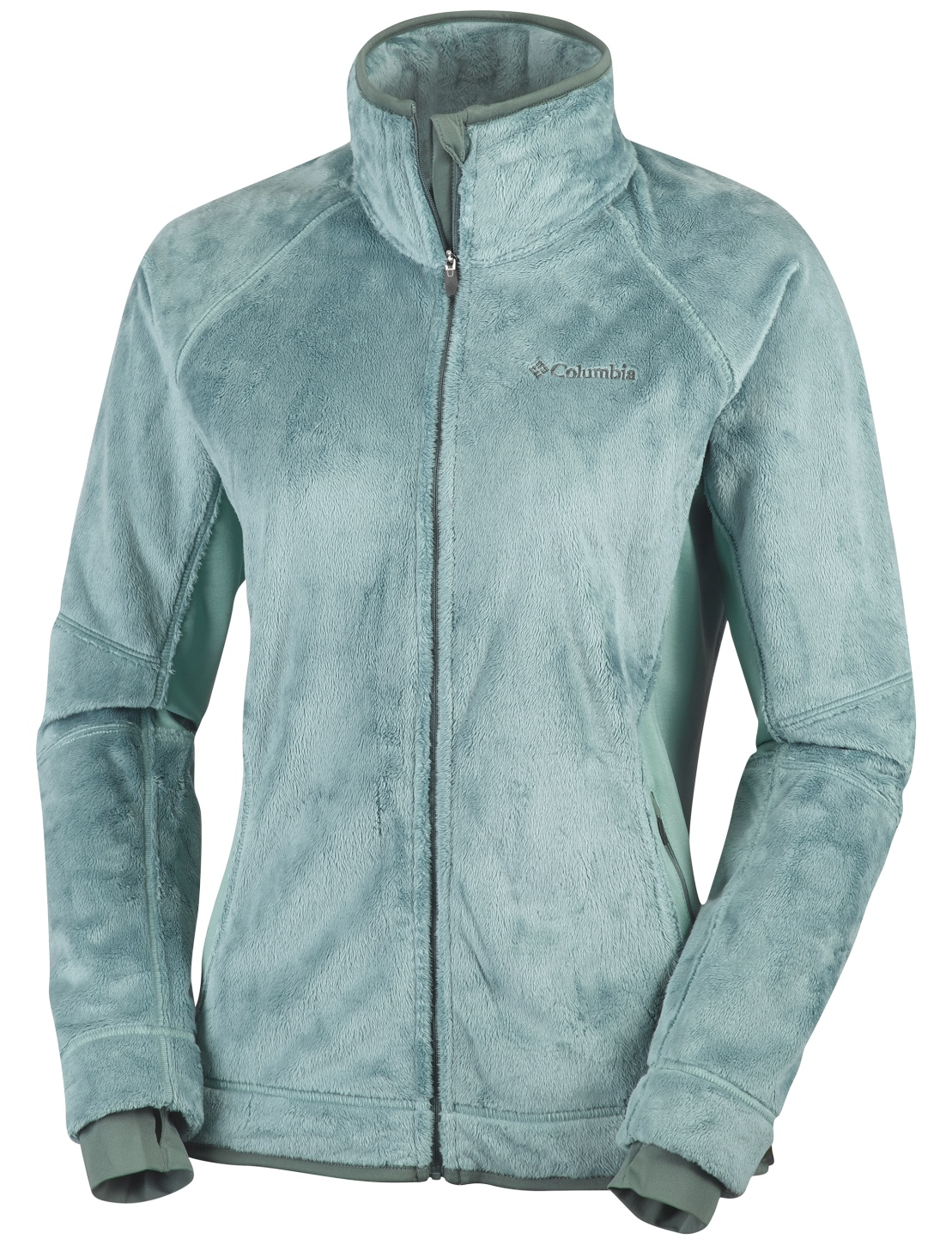 Columbia Women's Pearl Plush II Fleece Dusty Green-30