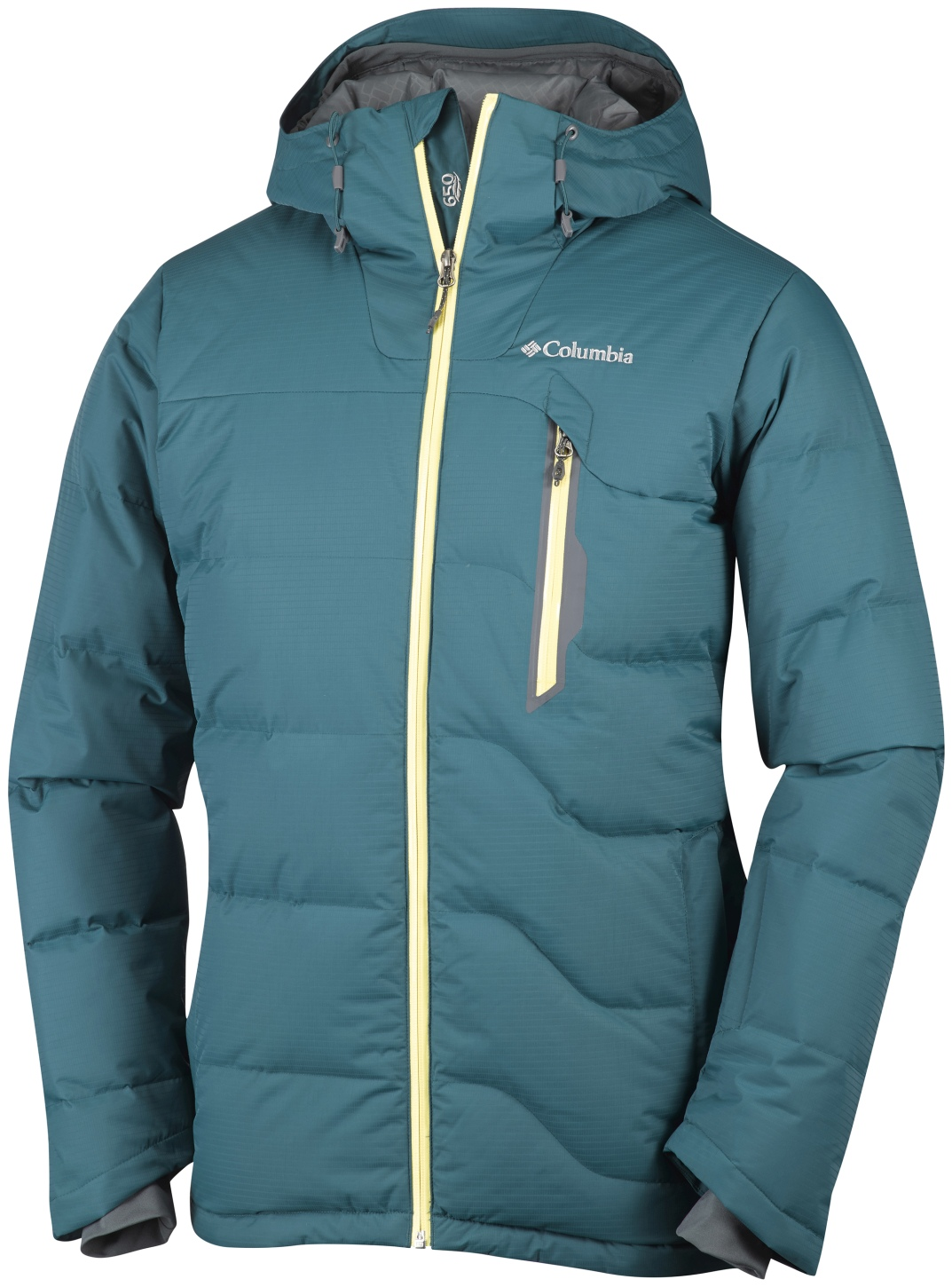 Columbia Men's M Powder Down Jacket Deep Water-30