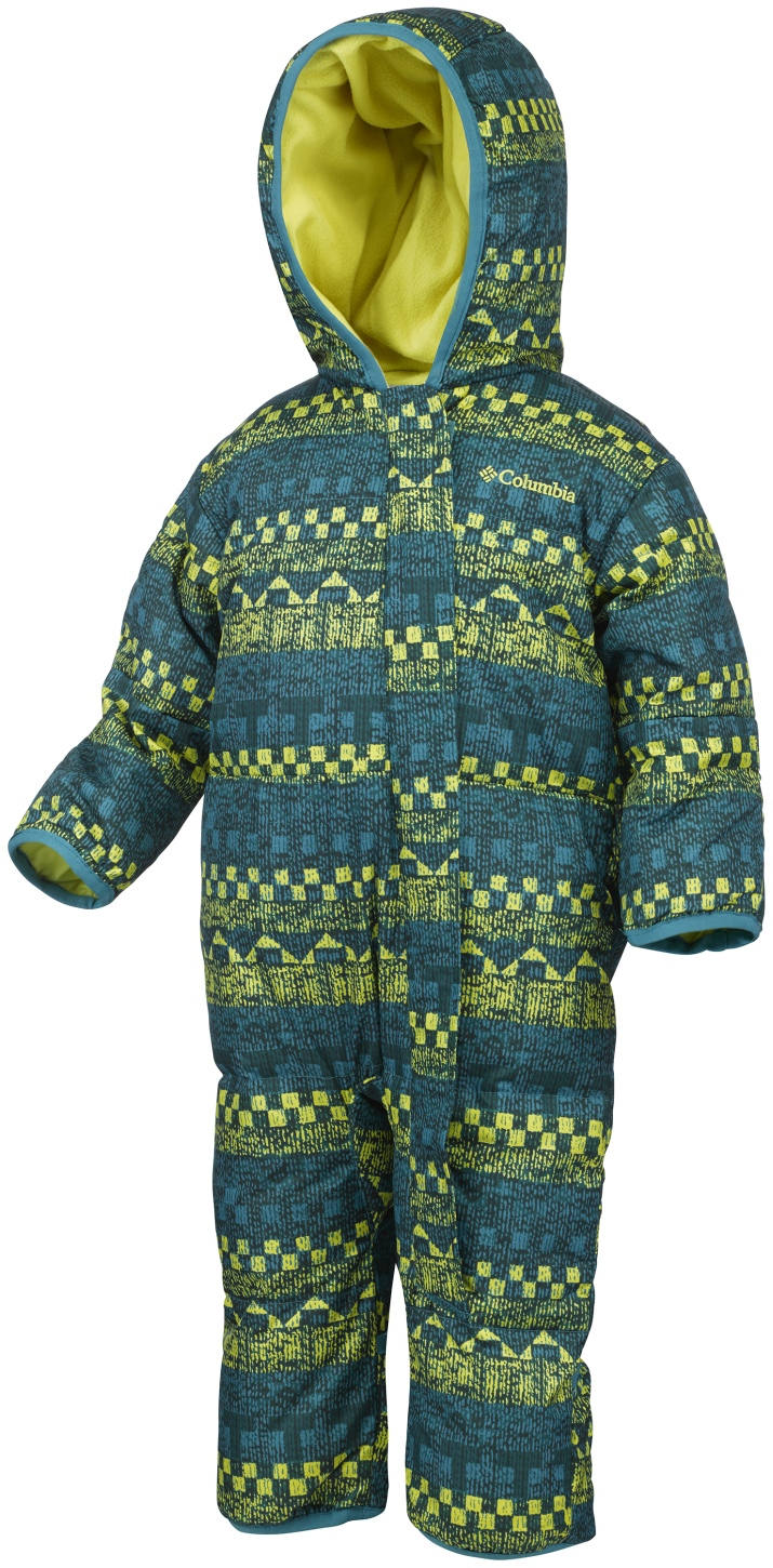 Columbia Toddlers' Snuggly Bunny Bunting Suit Deep Marine Fairisle-30