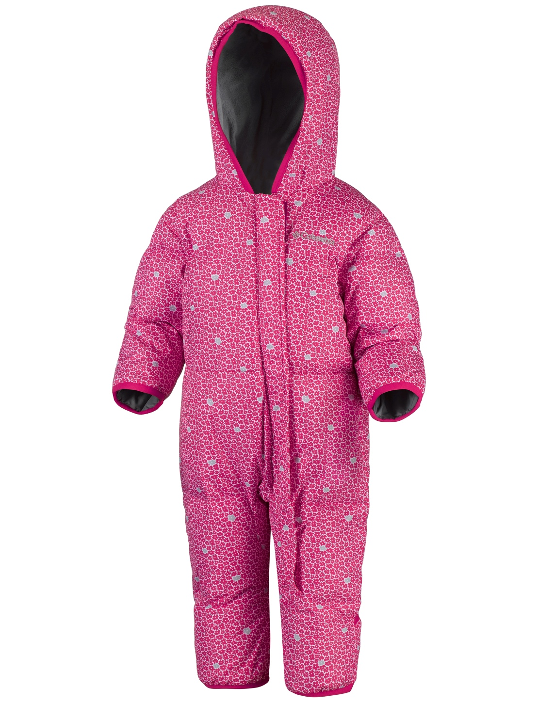 Columbia Toddlers' Snuggly Bunny Bunting Suit Punch Pink Floral-30