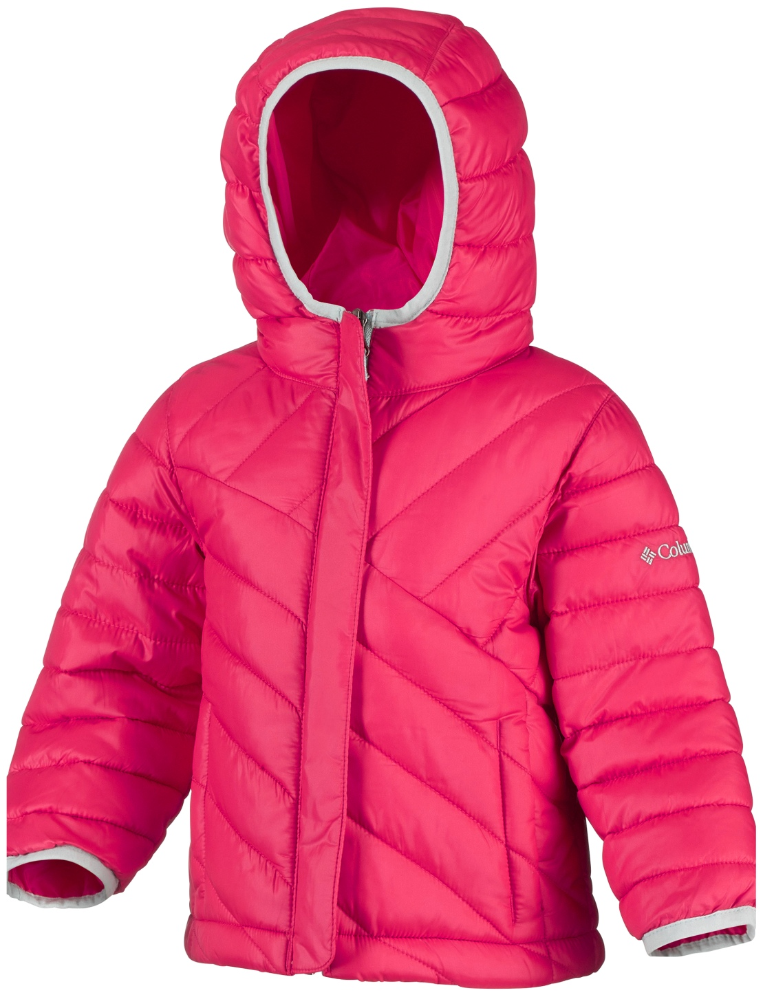 Columbia Toddlers' Powder Lite Puffer Jacket Red Camelia-30