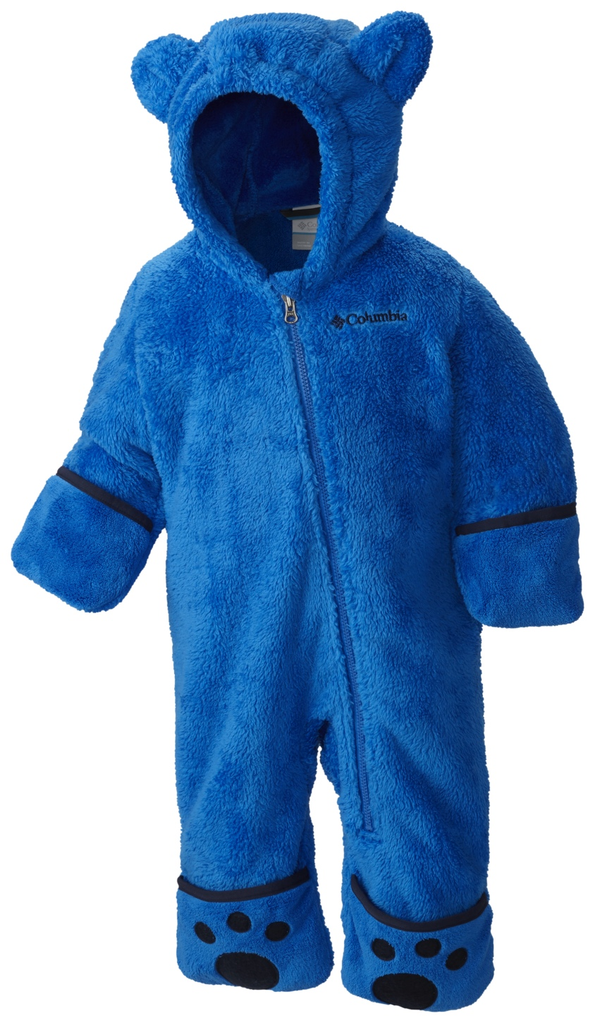 Columbia Boys' Foxy Baby II Fleece Suit Super Blue, Collegiate Navy-30