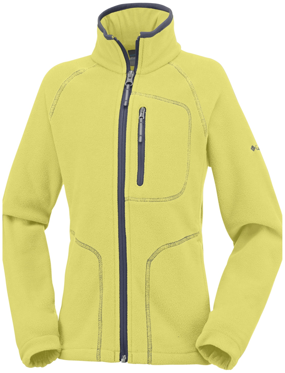 Columbia Fast Trek II Fleecejacke für Jungs Mineral Yellow, Graphite-30