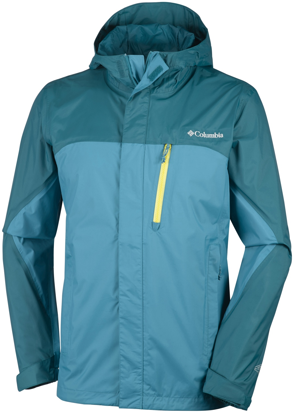 Columbia Men's Pouring Adventure Jacket Deep Marine, Deep Water-30