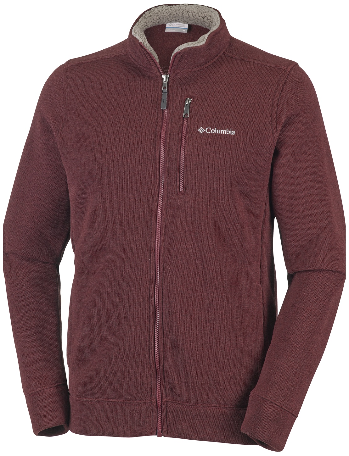Columbia Men's Terpin Point II Full Zip Top Deep Rust-30