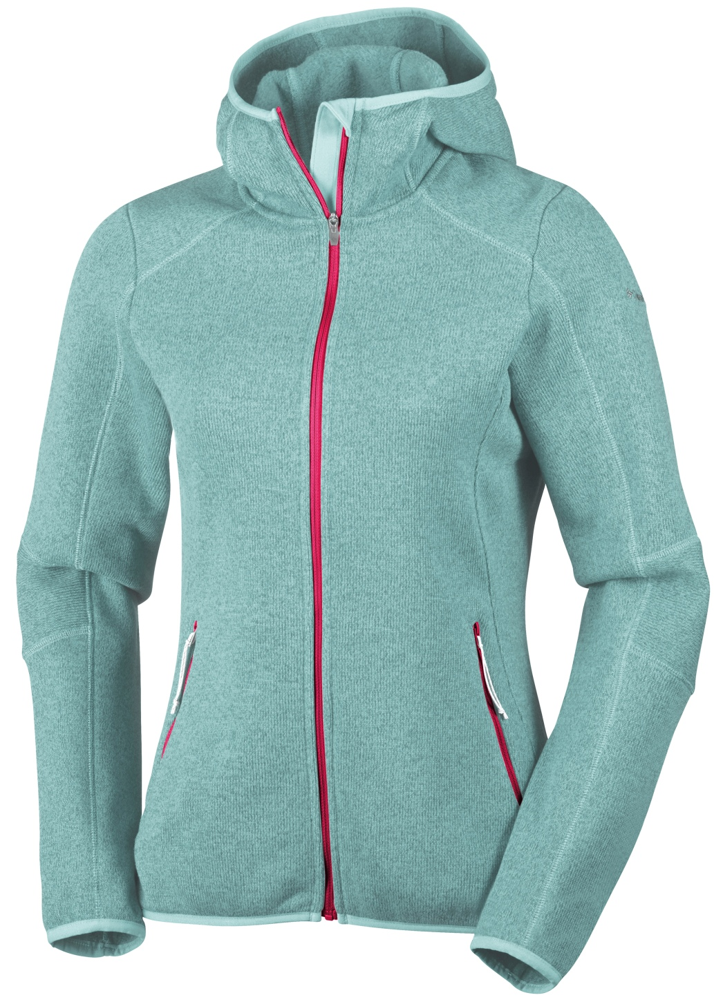 Columbia Kapuzen-Fleecejacke Altitude Aspect für Damen Spray Heather-30