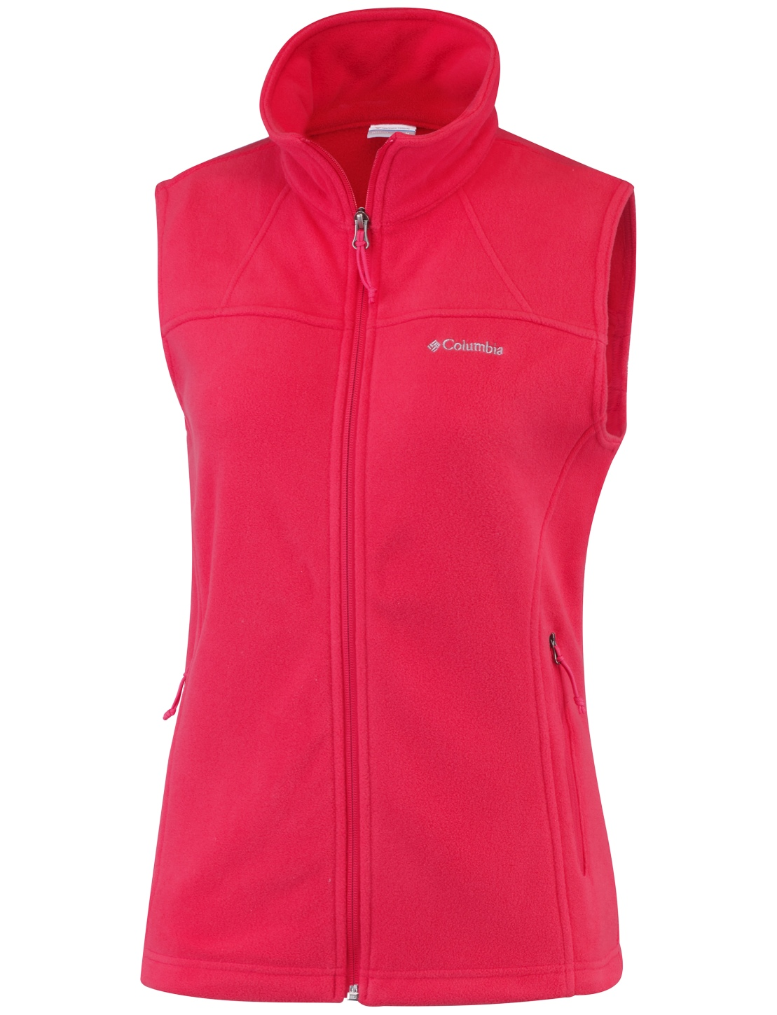 Columbia Fleece-Jacke Fast Trek für Damen Red Camellia-30