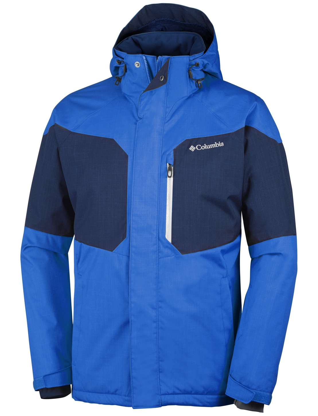 Columbia Men's Alpine Action Ski Jacket Super Blue, Collegiate Navy-30