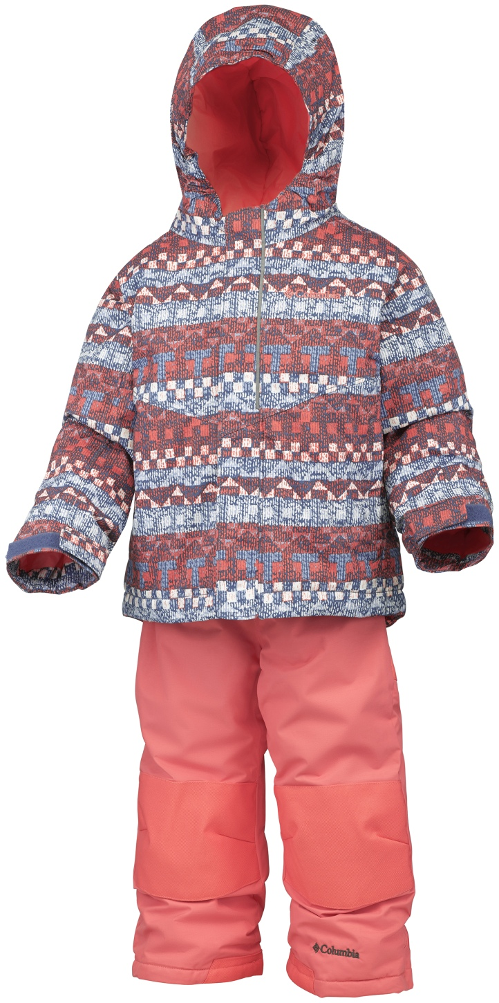 Columbia Toddlers' Buga Snow Set Bluebell Fairisle-30