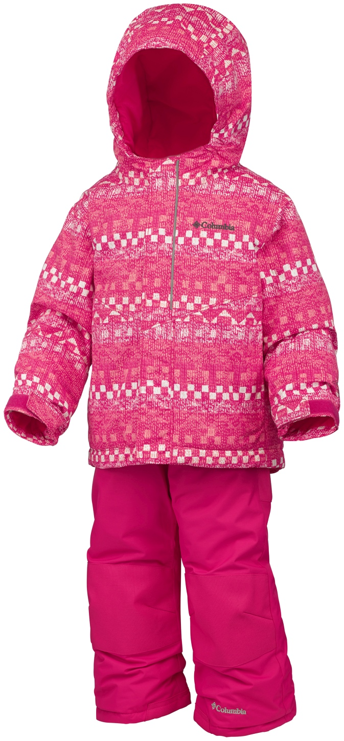 Columbia Toddlers' Buga Snow Set Punch Pink Fairisle-30