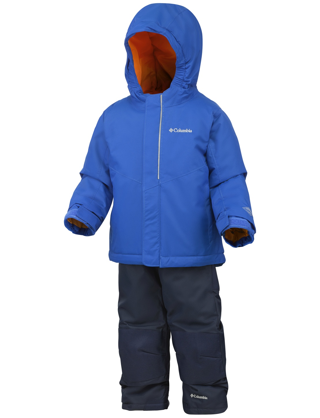Columbia Boy's Buga Snow Set Super Blue-30