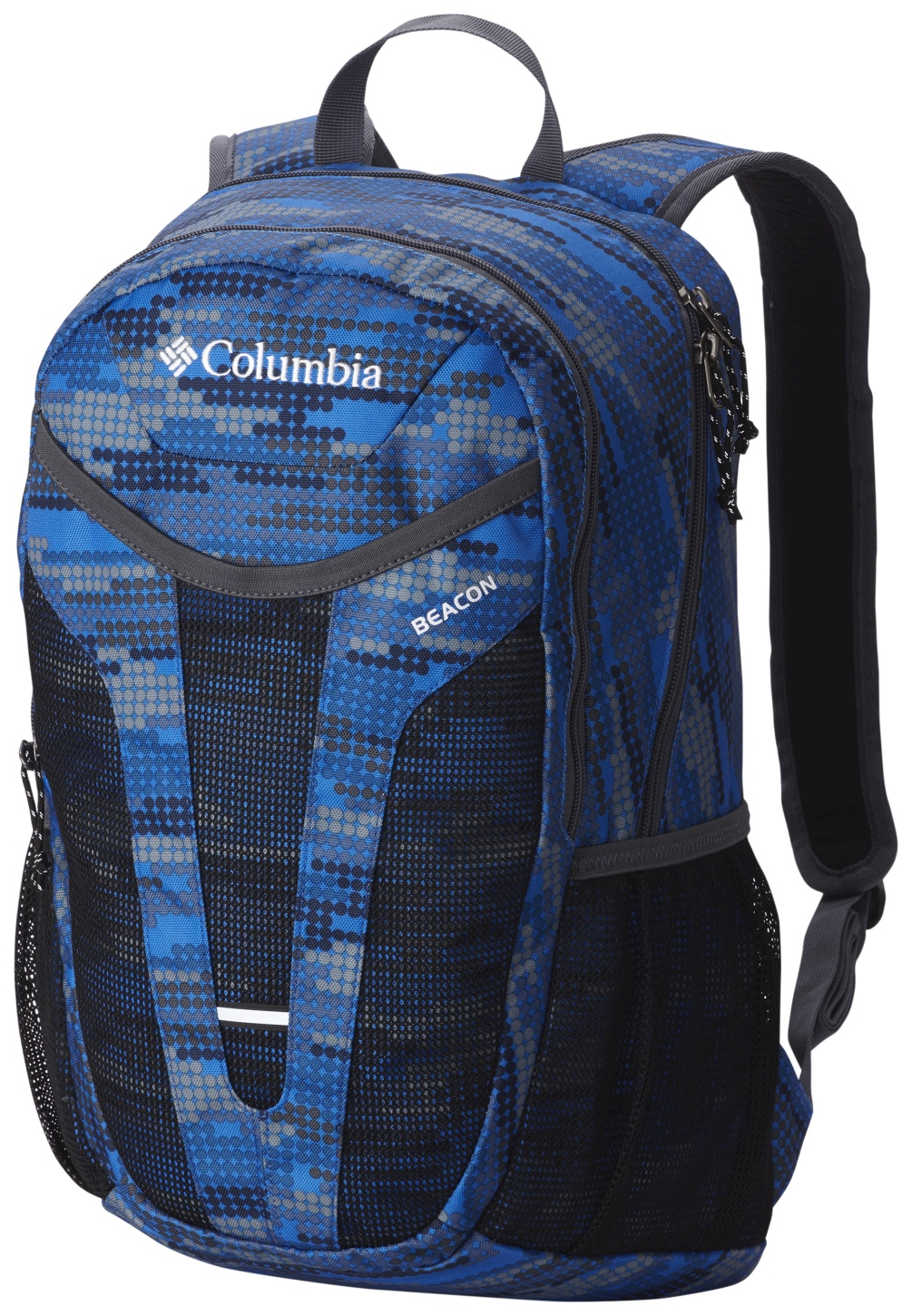 Columbia Beacon Daypack Bag Super Blue Digi Dot Print-30
