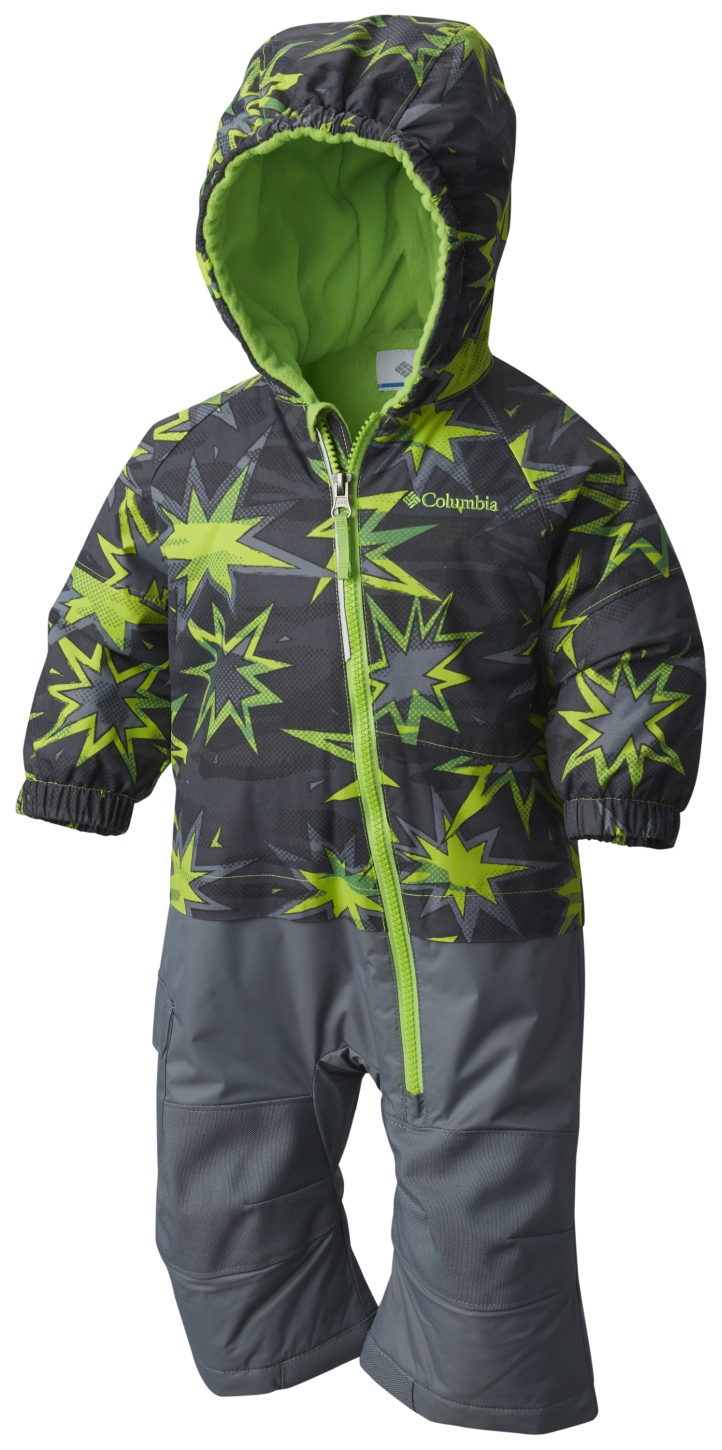 Columbia Boys' Little Dude Suit Green Mamba Print-30