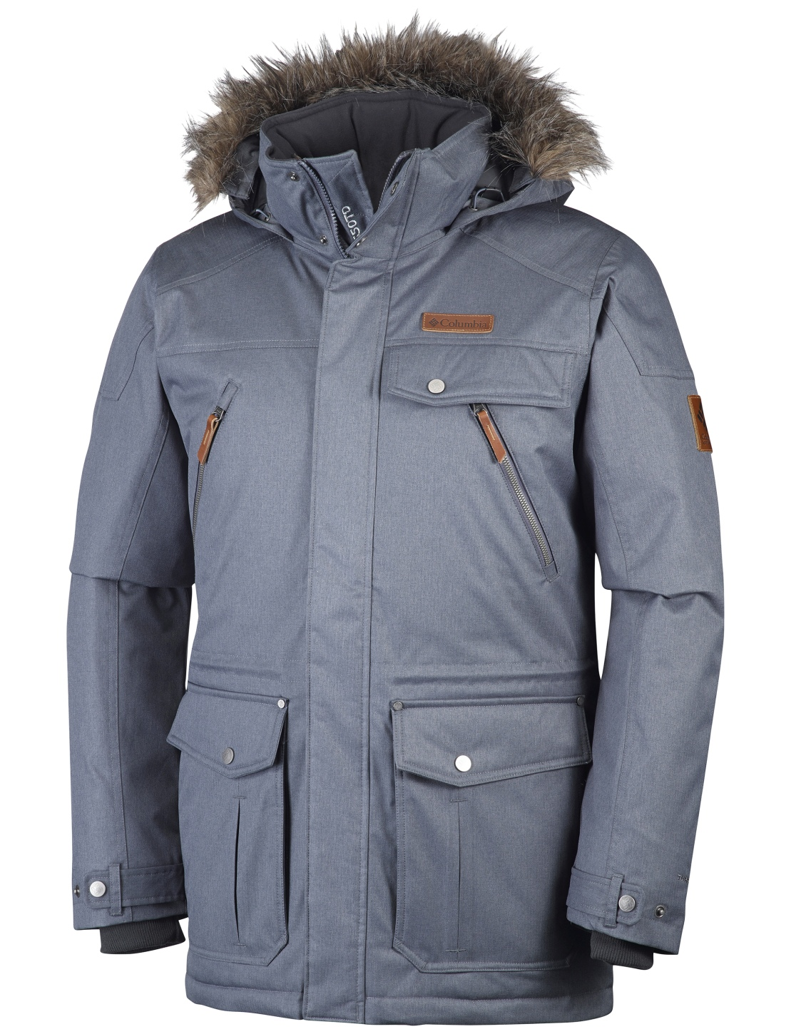 Columbia Men's Barlow Pass 550 Turbo Down Jacket Graphite-30