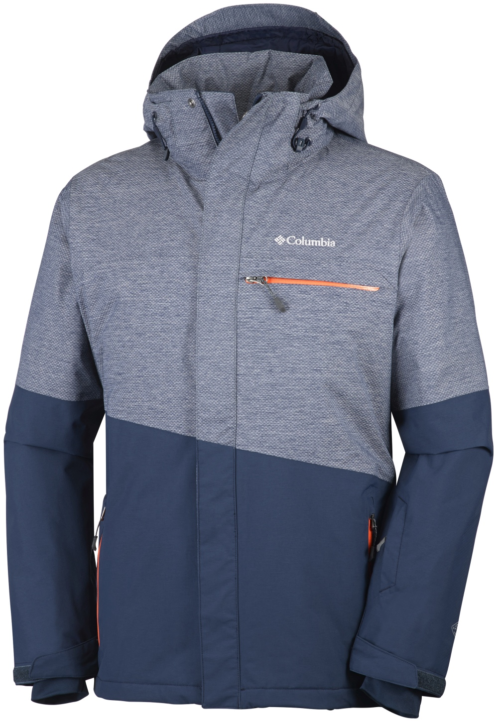 Columbia Men's Piste Beast Ski Jacket Collegiate Navy-30