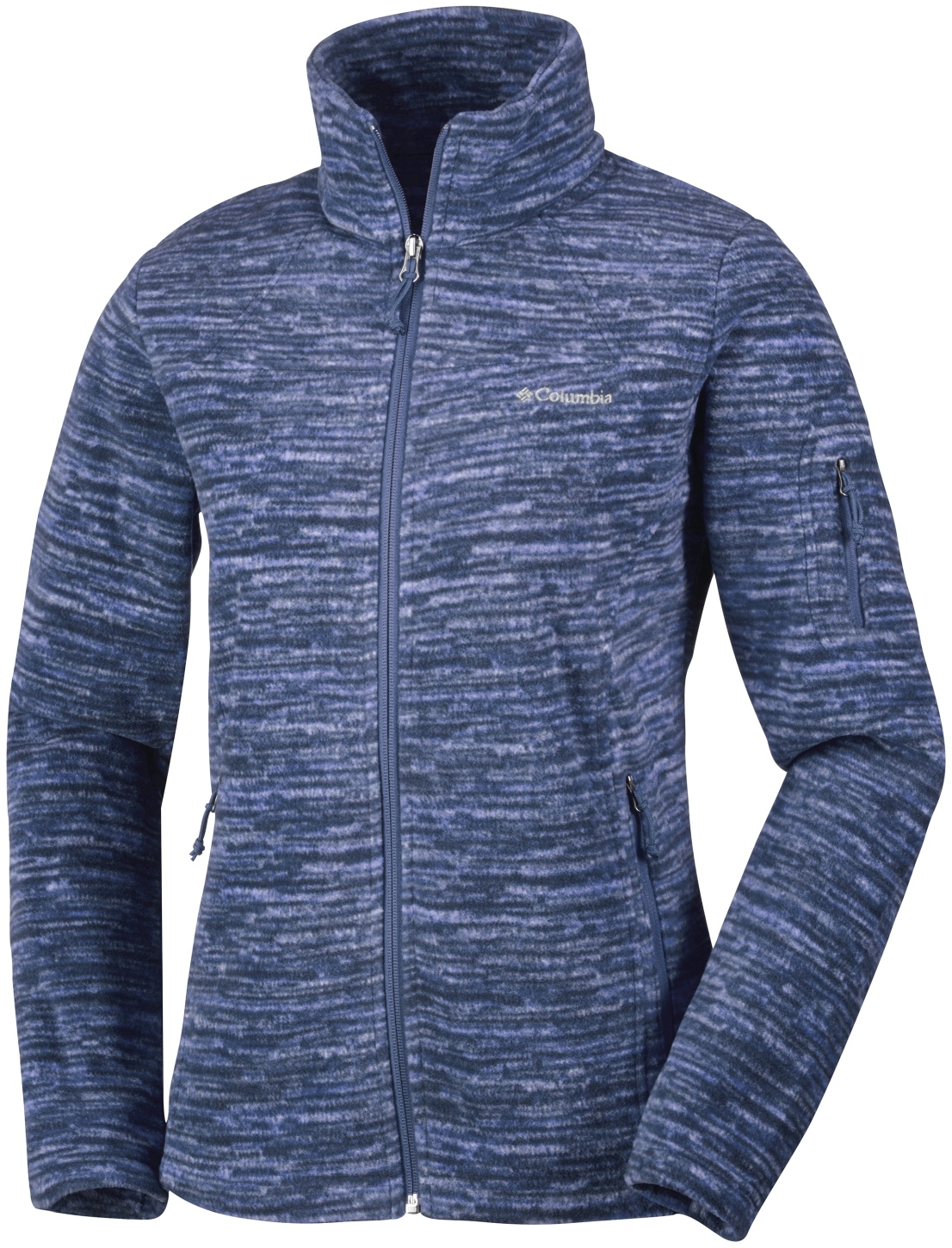 Columbia Women's Fast Trek Printed Jacket Bluebell Strata-30