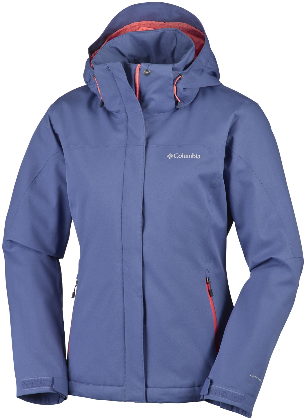 Columbia Women's Everett Mountain Jacket Bluebell, Hot Coral-30