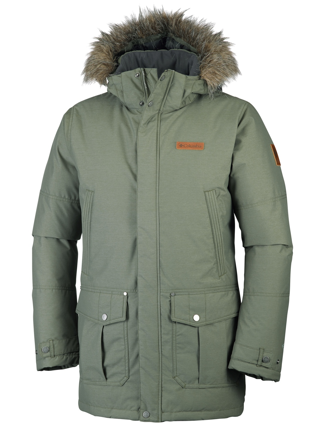 Columbia Timerline Ridge Jacke für Herren Peatmoss-30