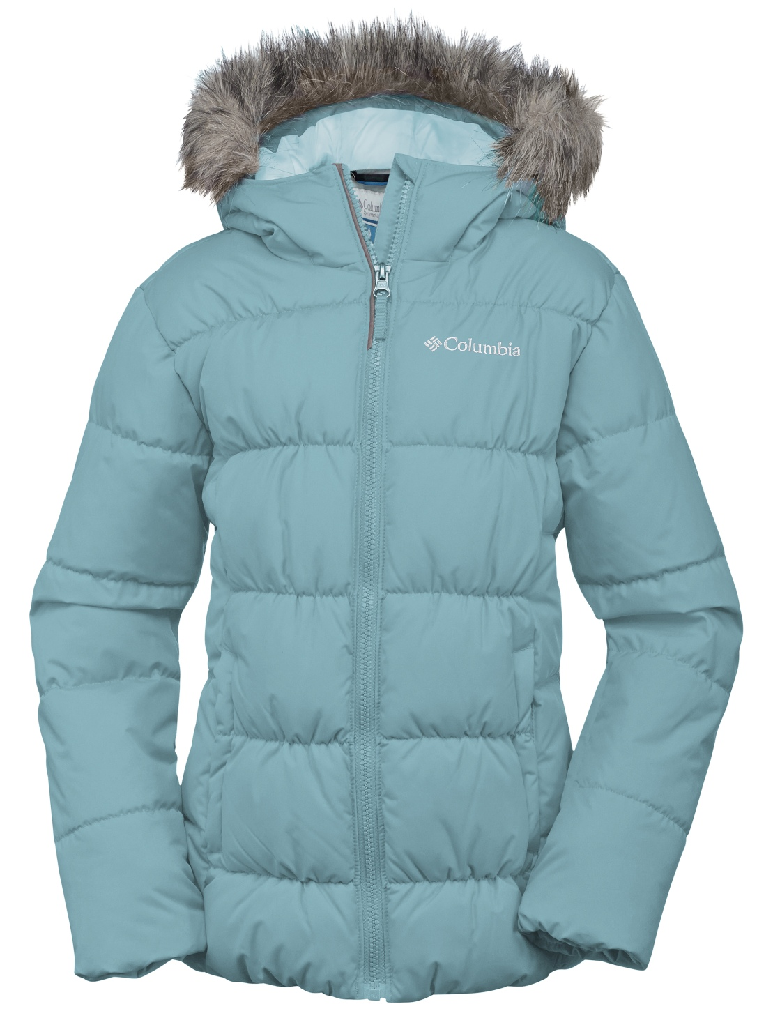 Columbia Girls' Gyroslope Jacket Spray-30
