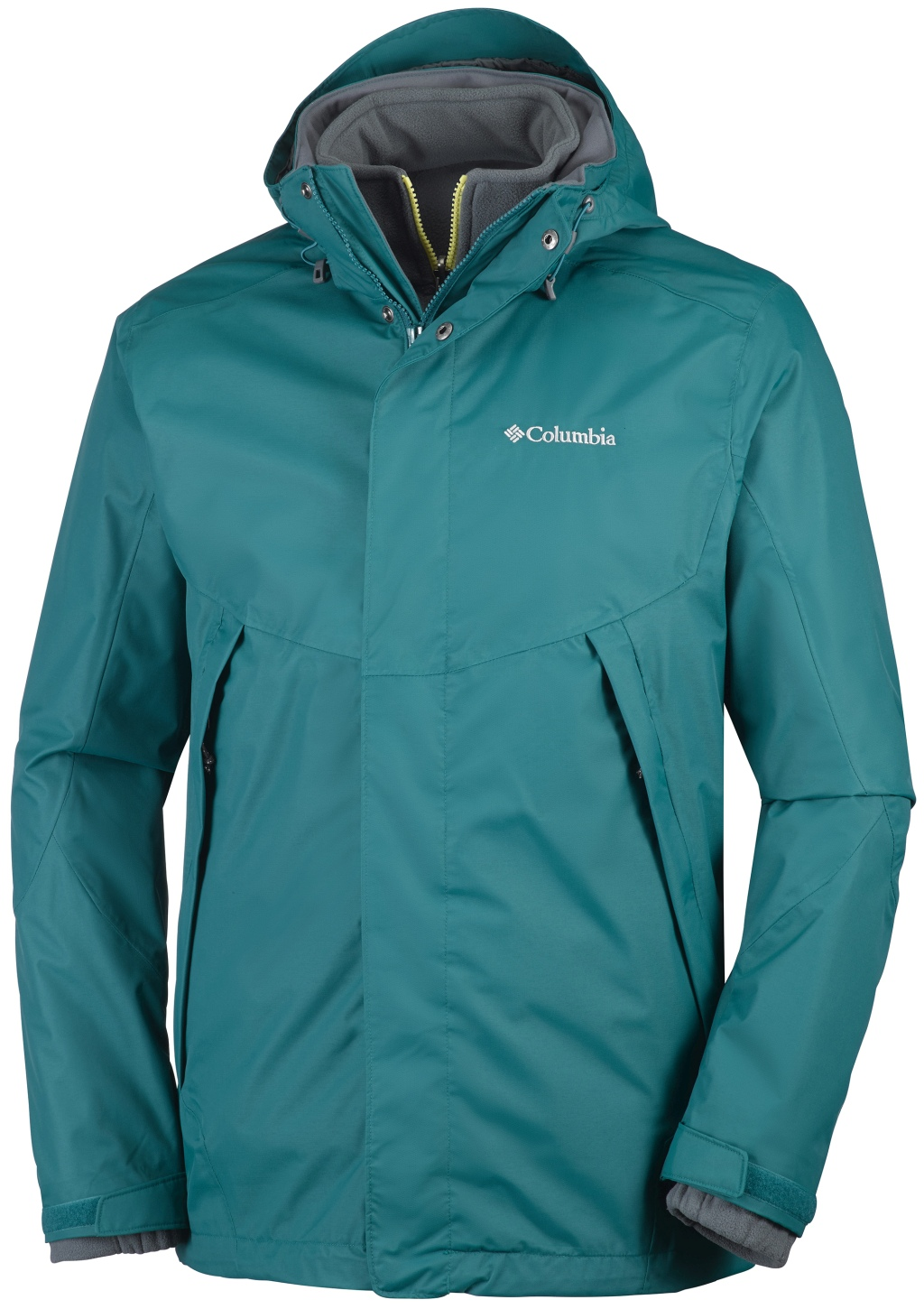 Columbia Men's Sestrieres Interchange Ski Jacket Deep Water-30