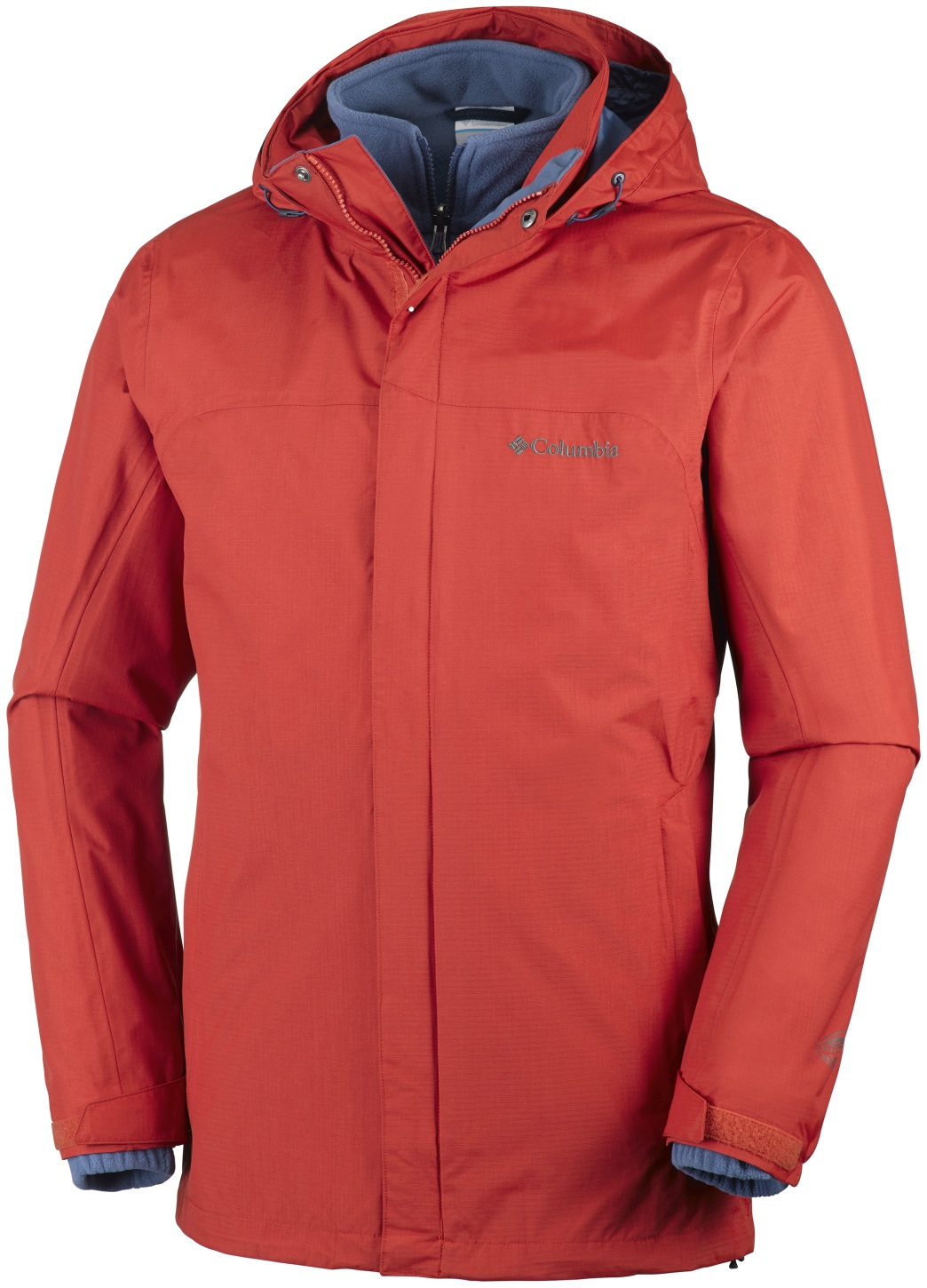 Columbia Men's Mission Air Interchange Jacket Rust Red-30
