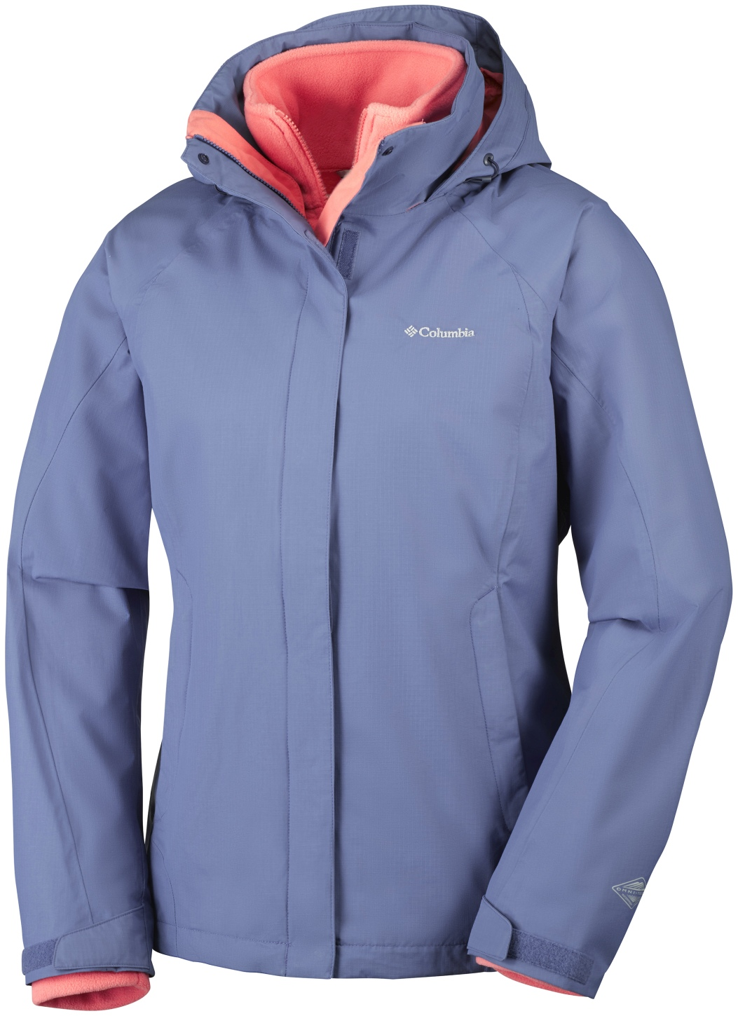 Columbia Women's Venture On Interchange Ski Jacket Bluebell-30