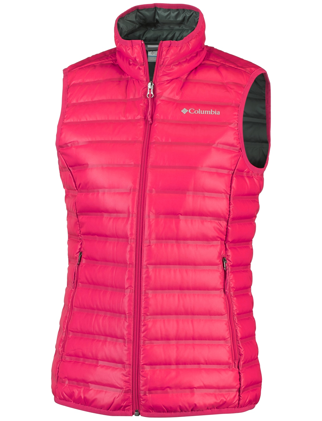 Columbia Women's Flash Forward Down Vest Red Camellia-30