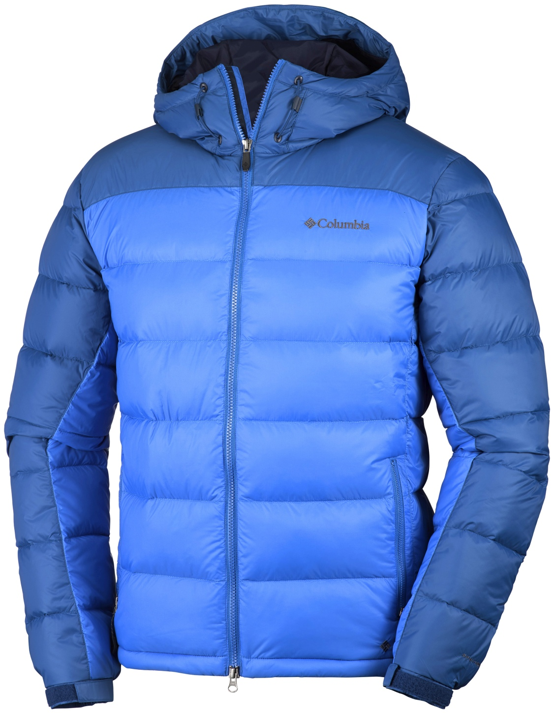 Columbia Men's Quantum Voyage Hooded Jacket Super Blue, Marine Blue-30