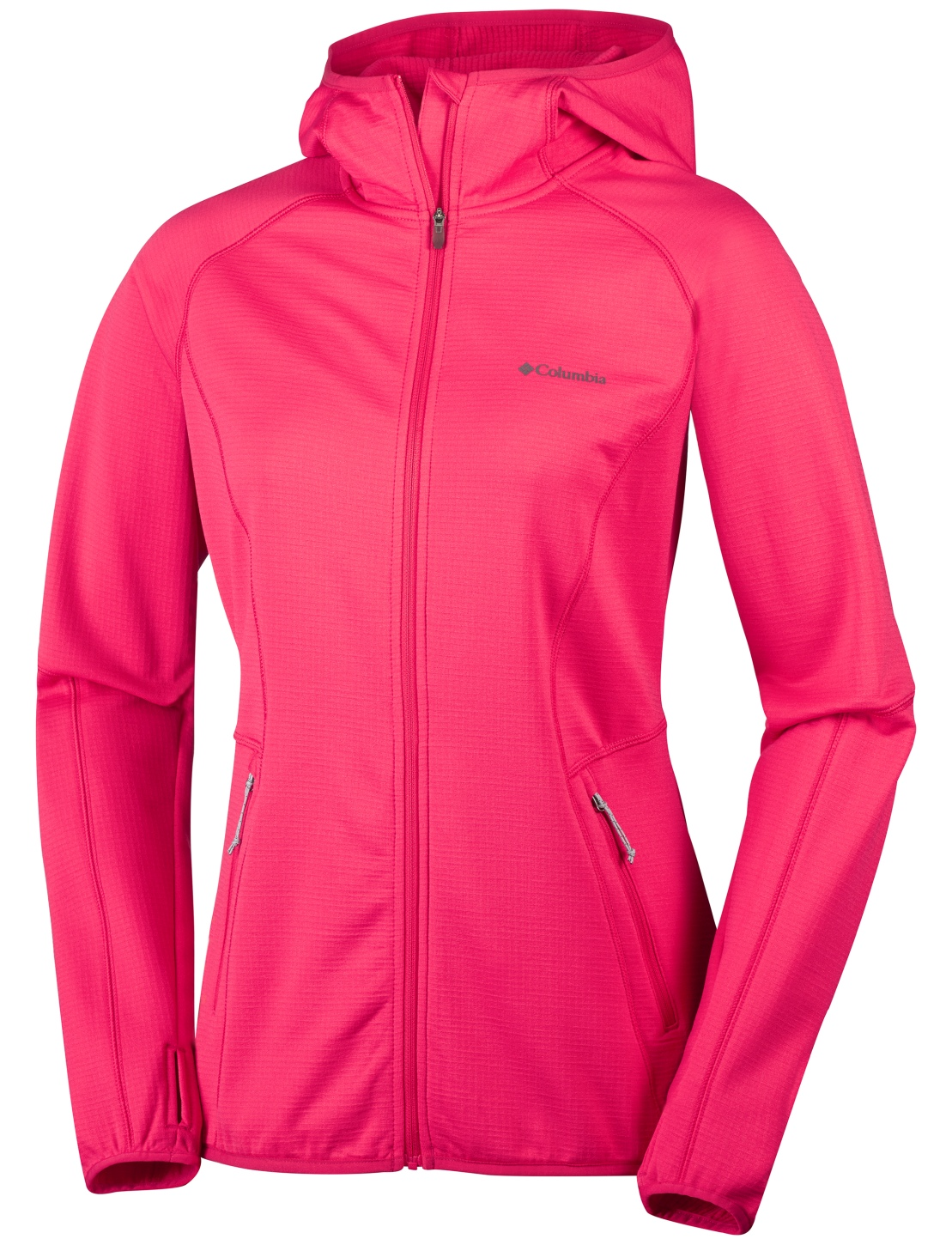 Columbia Women's Walnut Hills Hooded Jacket Red Camellia-30