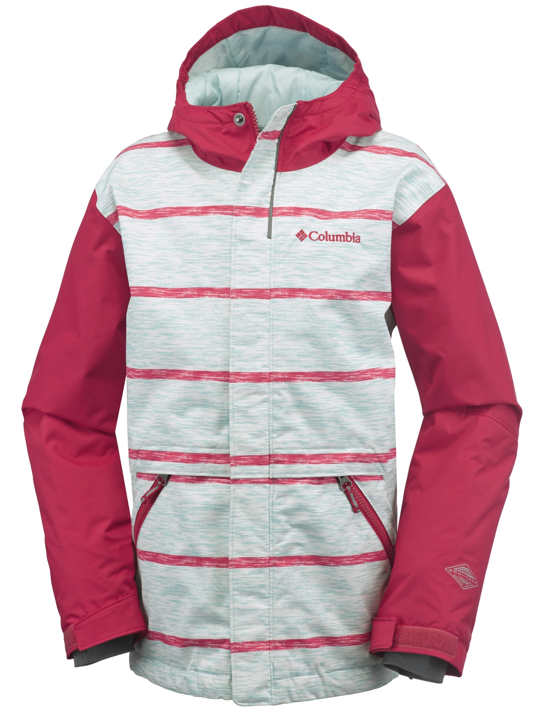 Columbia Slope Star Jacke Jungen Spray Stripe-30