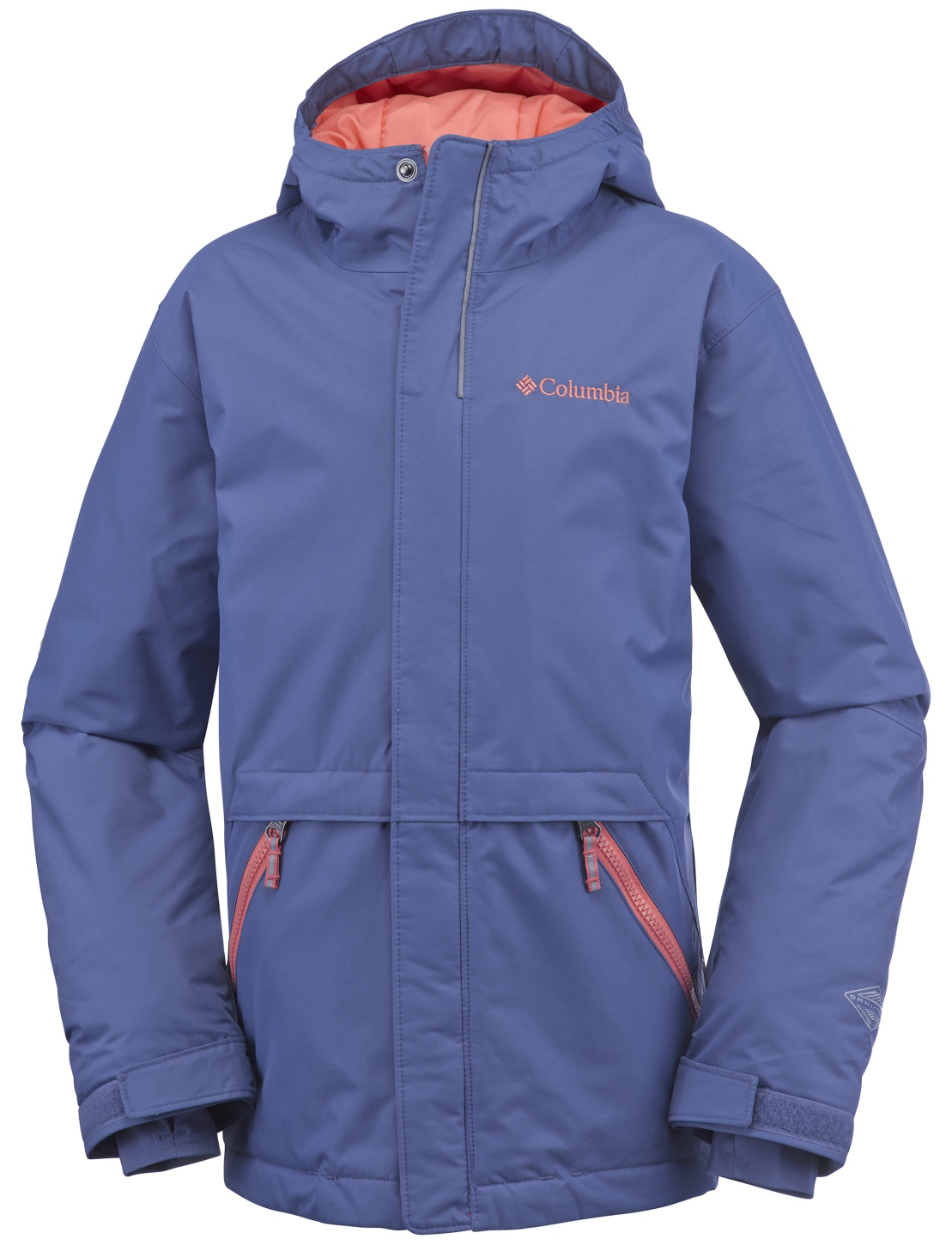 Columbia Boys' Slope Star Jacket Bluebell-30