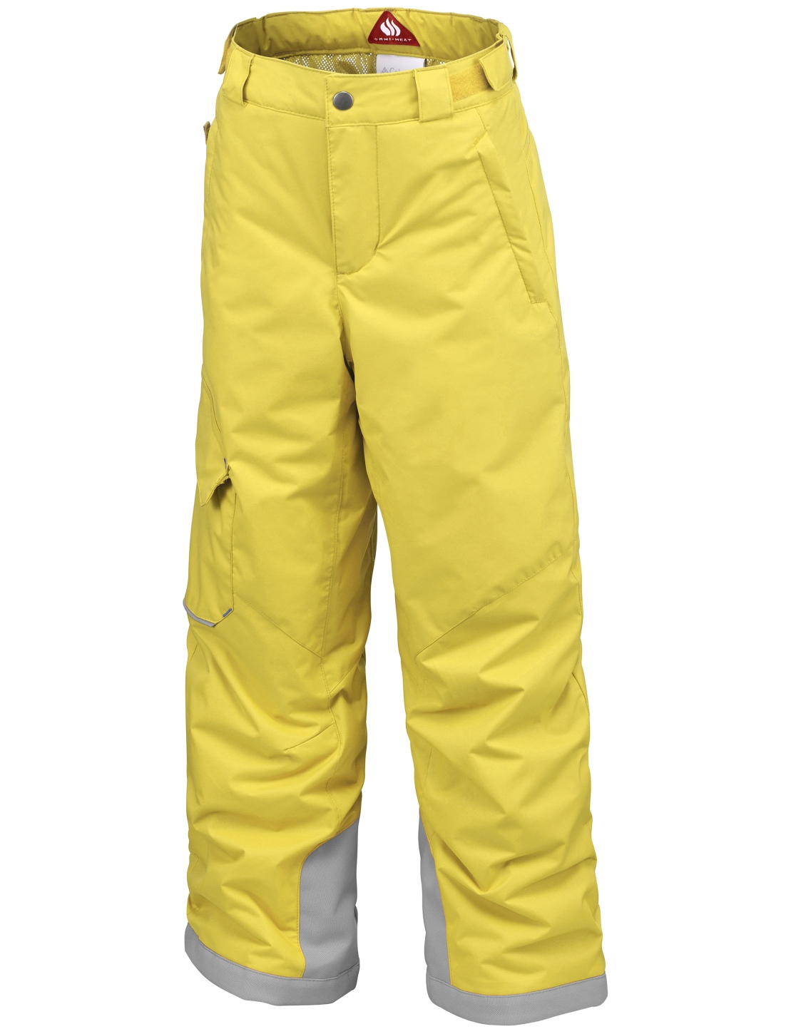 Columbia Boys' Bugaboo Ski Trousers Mineral Yellow, Deep Marine-30