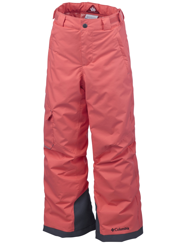 Columbia Boys' Bugaboo Ski Trousers Hot Coral-30
