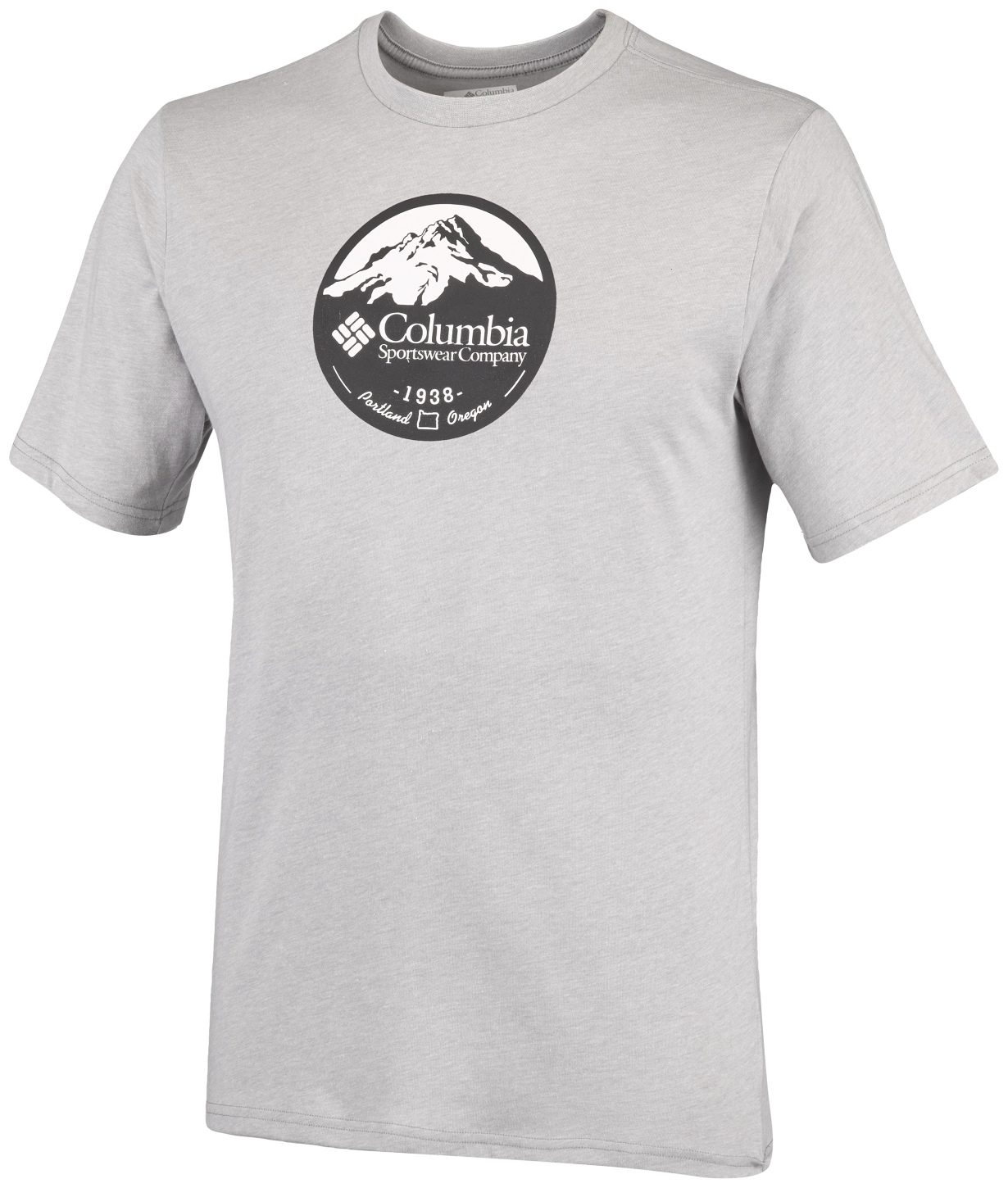 Columbia Men's CSC Pioneer Peak II Short Sleeve Grey Heather-30