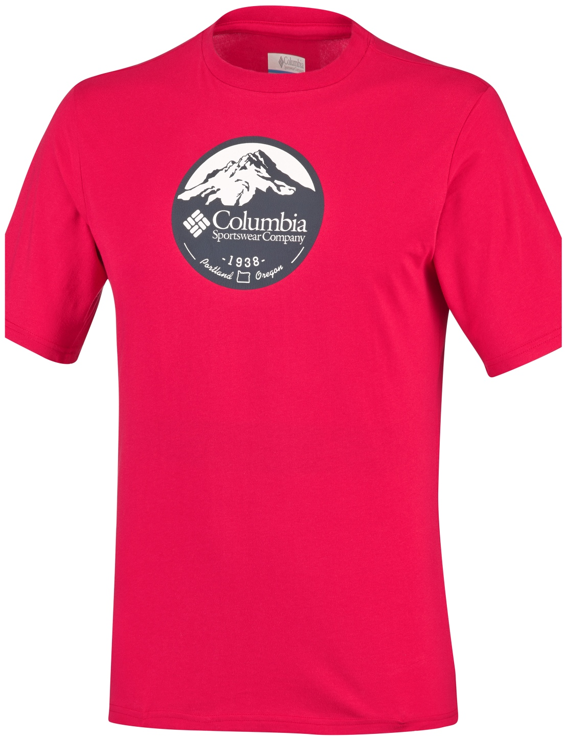 Columbia Men's CSC Pioneer Peak II Short Sleeve Mountain Red-30