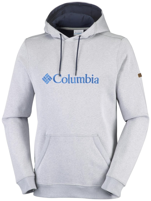 Columbia Men's CSC Basic Logo II Hoodie Grey Heather-30