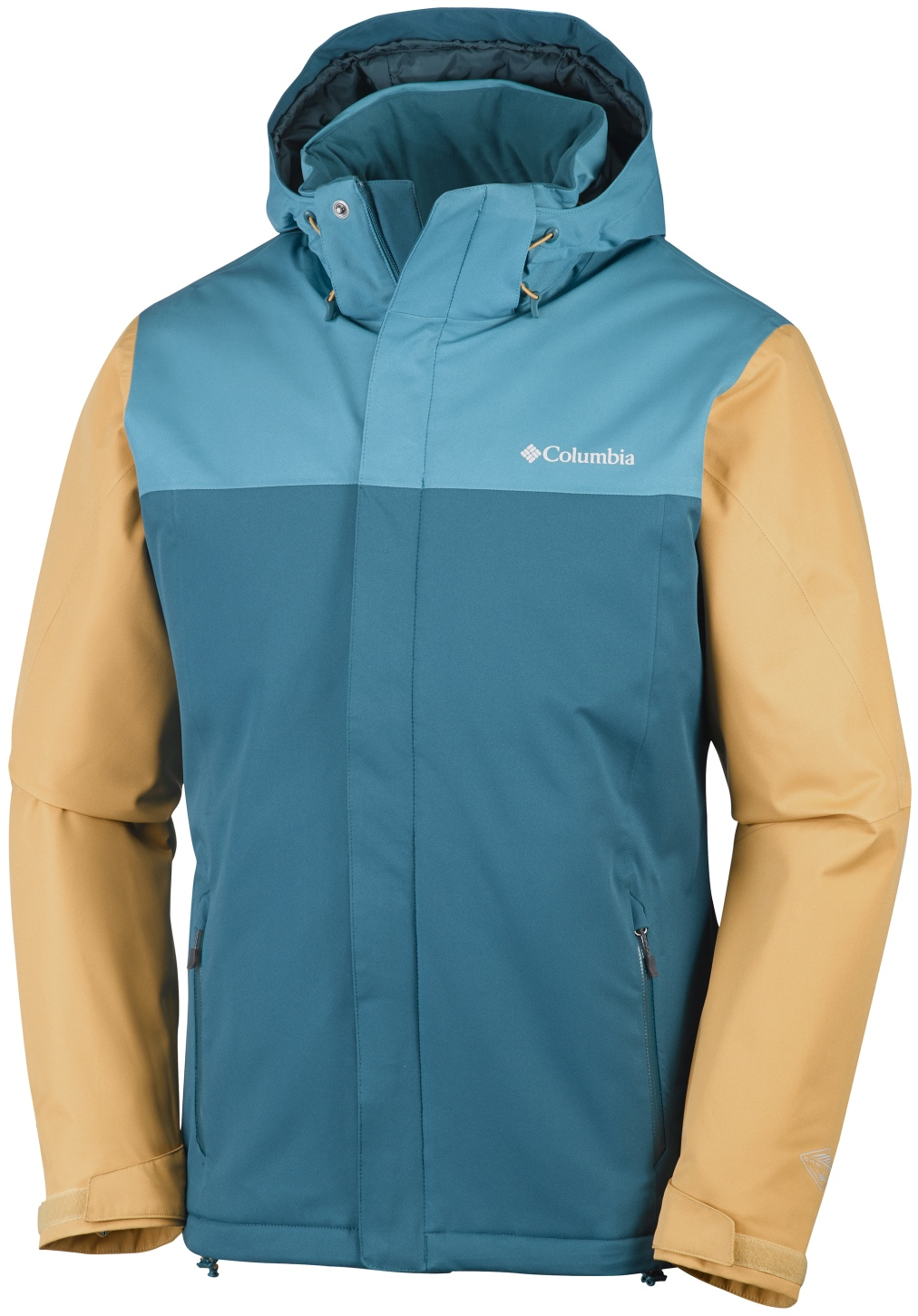 Columbia Men's Everett Mountain Jacket Deep Water, Deep Marine-30